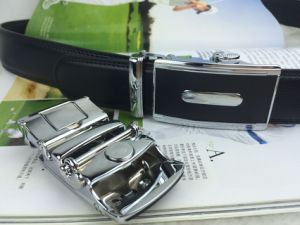 Black Leather Belts for Men (HPX-160701) pictures & photos