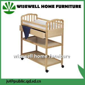 Solid Pine Wood Baby Furniture Changing Chest pictures & photos