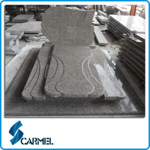 Popular G664 Bainbrook Brown Granite Tombstone for Poland Market