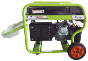 2.8kw Electric Start Portable Gasoline Generator for Home Use (FC3600E) pictures & photos