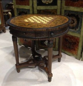 Round Chess Table (HY4059)