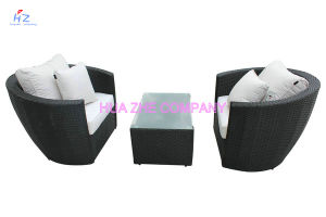 Rattan Wicker Sofa Table Cushioned Garden Patio Furniture pictures & photos