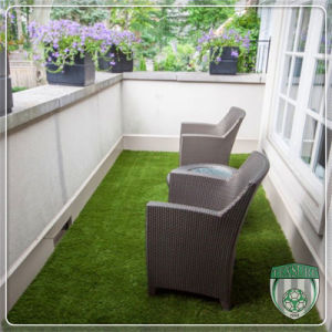 Balcony Landscape Artificial Synthetic Grass for Home Decoration pictures & photos