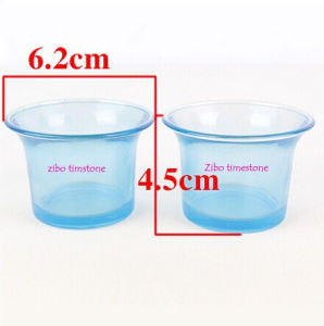Wholesale Ocean Style Blue Color Candle Holder Glass pictures & photos