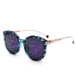 Fashion Women Vintage Retro Fashion Round Frame Mirror Lens Sunglasses pictures & photos