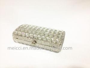 Silver Glass Stone Clutch Bag, Eveningbag pictures & photos