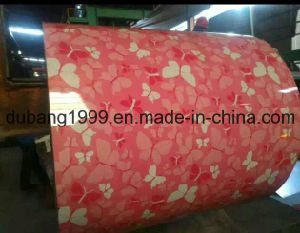 New Flower Design Pattern PPGI for Boxes Build Construct Material /Color Coated Steel Coils/Color Roof PPGI Coils pictures & photos