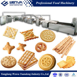 Full Automatic Hard and Soft Biscuit Making Machine pictures & photos