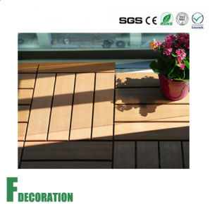 Wood Composite Interlocking Decking Tiles pictures & photos