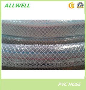 PVC Transparent Plastic Water Hose Fiber Braided Garden Hose pictures & photos
