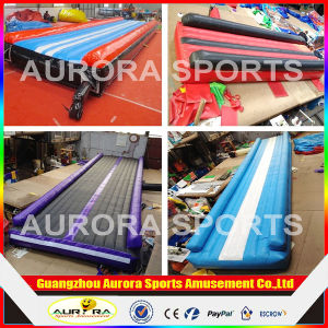 10X2.6m Inflatable Tumbling Track for Gymnastic/ Inflatable Air Trampoline Track