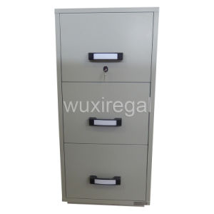 Metal Fire-Resistant Filing Cabinet, UL 2-Hour Fireproof Safe (UL824FRD-II-3001) pictures & photos