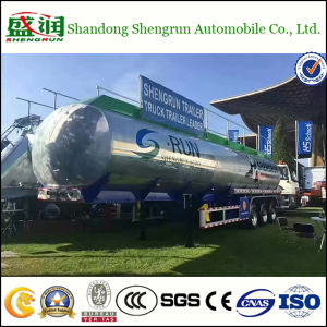 50cbm Aluminum Alloy Fuel Tank Trailer Oil Tanker