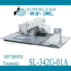Superlead Pneumatic 300*200mm Computer Control Pattern Sewing Machinery (SL-342G-01A)