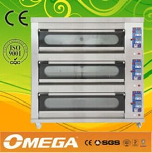 Baking Ovens for Sale of Deck Oven with 4 Chambers 16 Pans pictures & photos