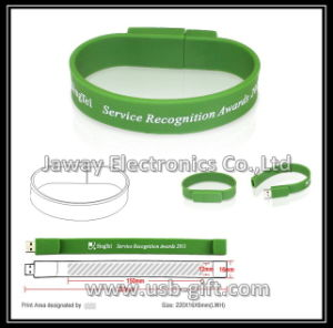 OEM 2GB Wristband Style USB 2.0 Memory Disk Pen Drive