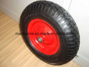 Factory Flat Free PU Foam Wheel pictures & photos