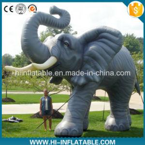 Custom Made Advertising Inflatable Elephant Cartoon Model, Inflatable Animal Replicas Cartoon for Sale