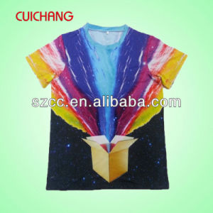 Front Printing Sublimation T Shirt Sublimation T-Shirt Sublimation Tshirt