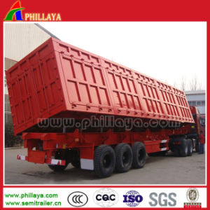 Hot Sale 3 Axles Side Tipper for Sale pictures & photos