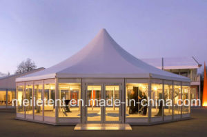 150 Guest VIP Meeting Hall Glass Octagon Tent for Party Wedding Octagonal Tent pictures & photos