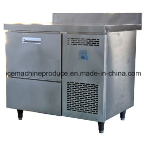 150kgs Table Counter Cube Ice Maker for Food Preparing pictures & photos