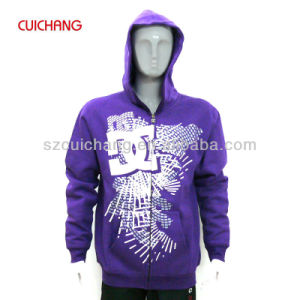 Wholesale 100% Cotton Silk Screen Printing Custom Design Fashional Good Quality Hoodies Lmwy-009