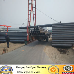 BS1139, En39 ERW Black Steel Pipe Structure Pipe Stock pictures & photos
