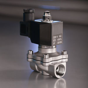 Stainless Steel with IP65 Coil Solenoid Solenoid Valve pictures & photos