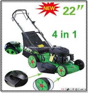 """EPA/GS/EMC/CE 6.0HP 173CC 22"""" 4 in 1 Self-Propelled Gasoline Lawn Mower (XYM188-3AJ)"""