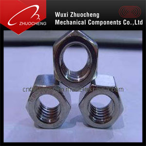 DIN934 Zinc Plated Hex Nuts pictures & photos
