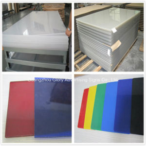 Plastic Board PMMA Transparent Cast Acrylic Sheet for LED Sign pictures & photos