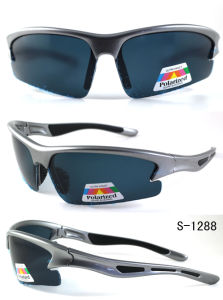 Hot Selling Sports Sunglasses with Polarized Lens UV400 CE FDA