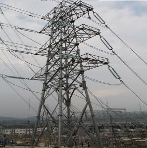 750kv Transmission Steel Tube Combination Tower