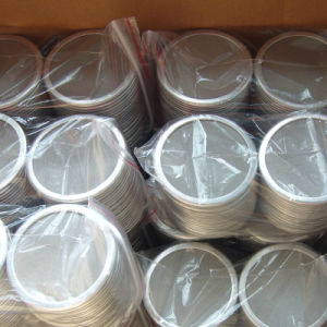 Round Wrapped Edges SUS 304 316 Multilayers Wire Mesh Filter Disc pictures & photos