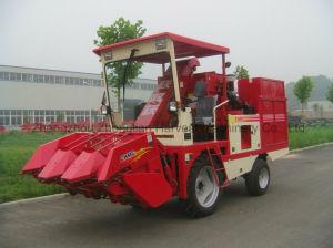 New Mini Corn Harvest Farm Machinery with Peeling pictures & photos