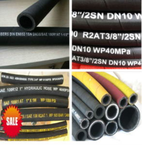 "1/2"" Cloth Cover Rubber Hose with 160bar"