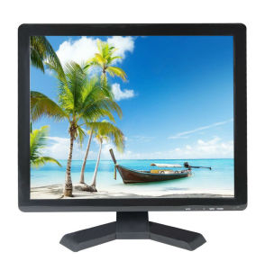 "LCD 17"" Surveillance CCTV Monitor with BNC pictures & photos"