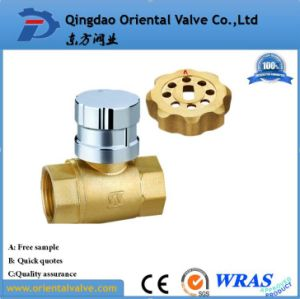 "Ball Valve Factory Suppliers Medium Pressure 1/4"" Mini Water Brass Ball Valve pictures & photos"