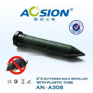 Electronic Garden Tool Sonic Wild Animal Mole Repellent with Short Plastic Tube