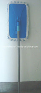 Microfiber Flat Cleaning Mop W/ Telescopic Steel Handle pictures & photos