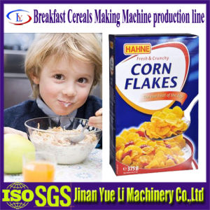 Crunchy Roasted Frosted Corn Flakes with Sugar Glaze Making Machine