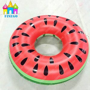 Floating Inflatable Air Lemon Swan Watermelon Swimming Ring Pool Float pictures & photos