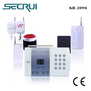 Home Security Alarm System With 99 Wireless Zones (2098)
