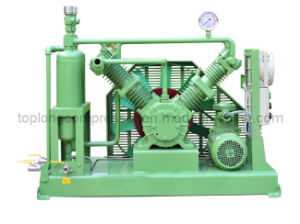 Oil Free High Pressure O2 Oxygen Helium Nitrogen Reciprocating Compressor pictures & photos