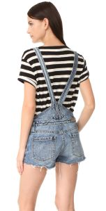 Fashion Short Blue Women Denim Jumpsuit pictures & photos