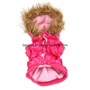 Waterproof Warm Pet Dog Clothes Apparel Hoodie Hooded Cotton pictures & photos