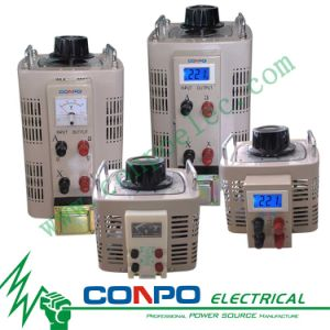 TDGC2 Series Contact Voltage Regulator/Variable Transformer 1phase, Tdgc2-0.5/1/2/3/5/7/10/15/20/30/40kVA pictures & photos