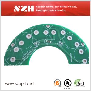 Double-Sided PCB with Lead-Free Hal Finishing pictures & photos