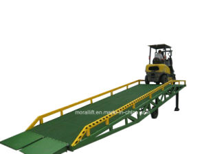 Hot Sale Mobile Hydraulic Heavy Duty Container Ramp pictures & photos